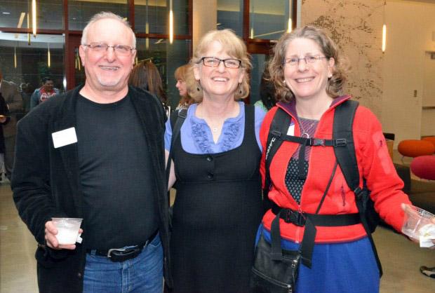 Mike with Karen and Batya
